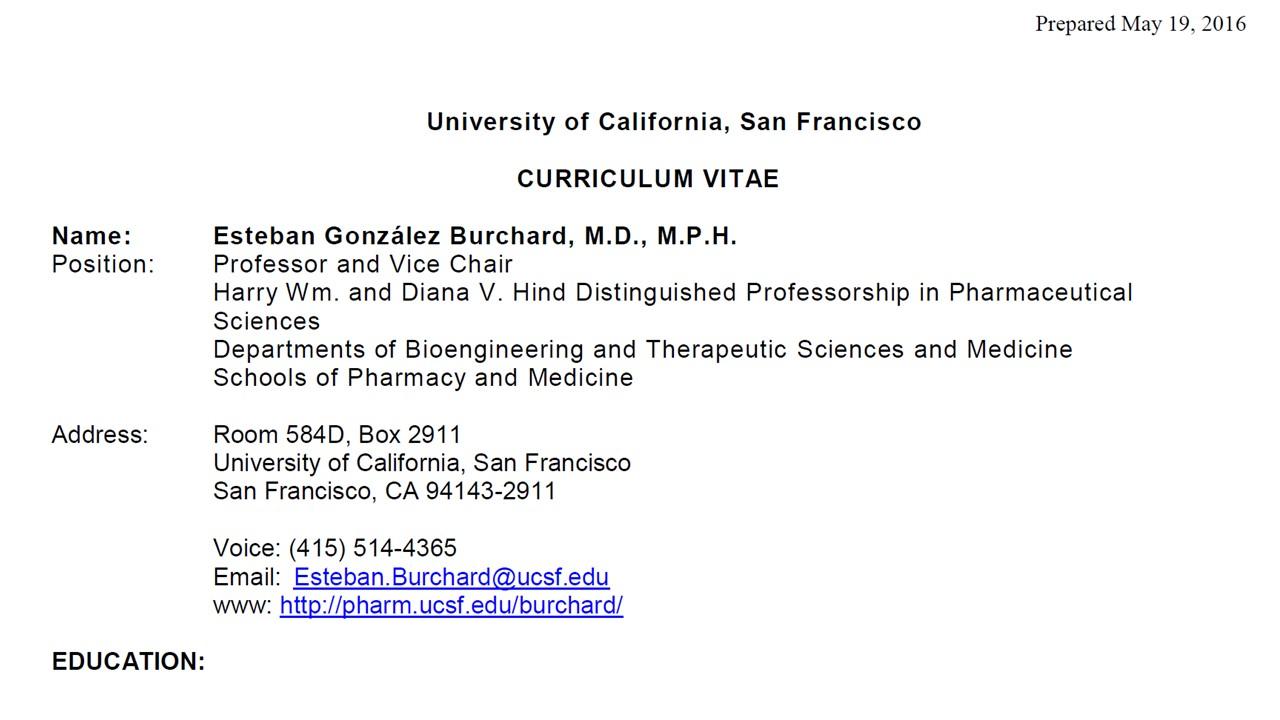 Symposium Speaker: Esteban G  Burchard, MD, MPH – Cleveland