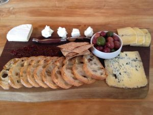 Figure 3. Now that's a cheese board to be proud of!