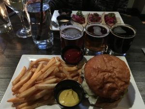 Figure 3. An American staple: the tavern burger and fries.