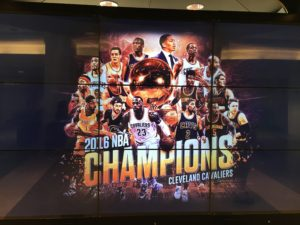 Figure 1. The Cleveland Cavaliers, the 2016 NBA Champions. (CLE; June 21, 2016).